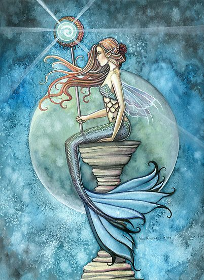 Mother And Daughter Wallpaper Quotes The Many Forms Of Mesmerizing Mermaid Art Bored Art