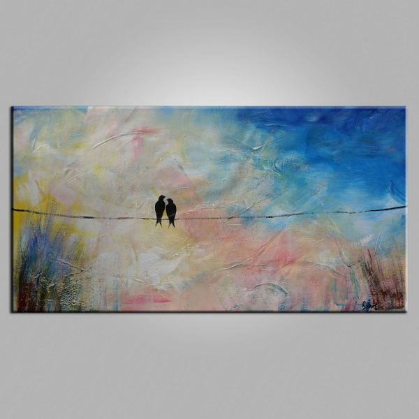 Beautiful Abstract Paintings Of Love - Bored Art