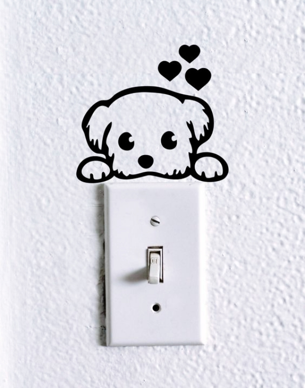 40 Cute and Creative Home Switchboard Art Installation