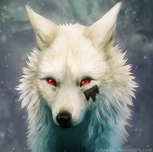 Sad Small Girl Wallpapers Majestic Wolf Paintings That Will Leave You Amazed
