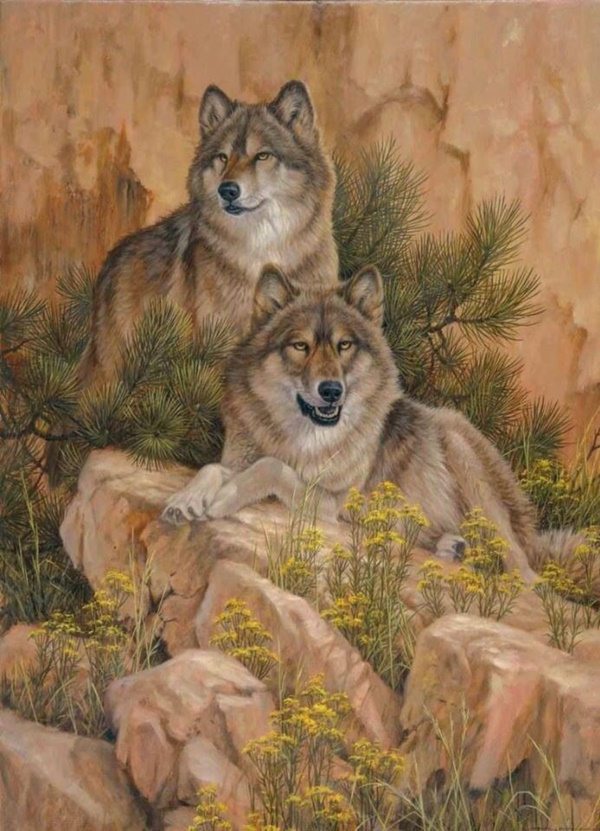Cute Cubs Wallpaper Majestic Wolf Paintings That Will Leave You Amazed