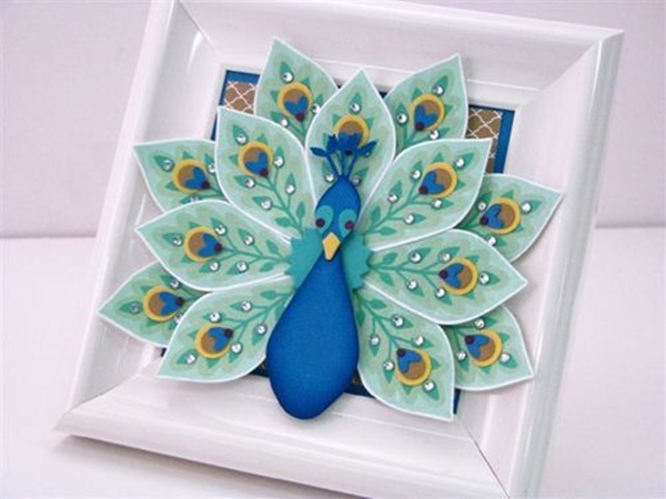 40 Easy Peacock Painting Ideas Which Are Useful Bored Art