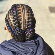 catchy cornrow braids hairstyles