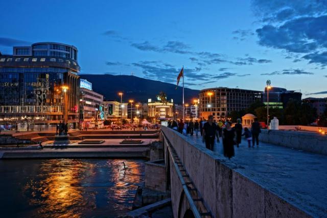 Old bridge, Skopje