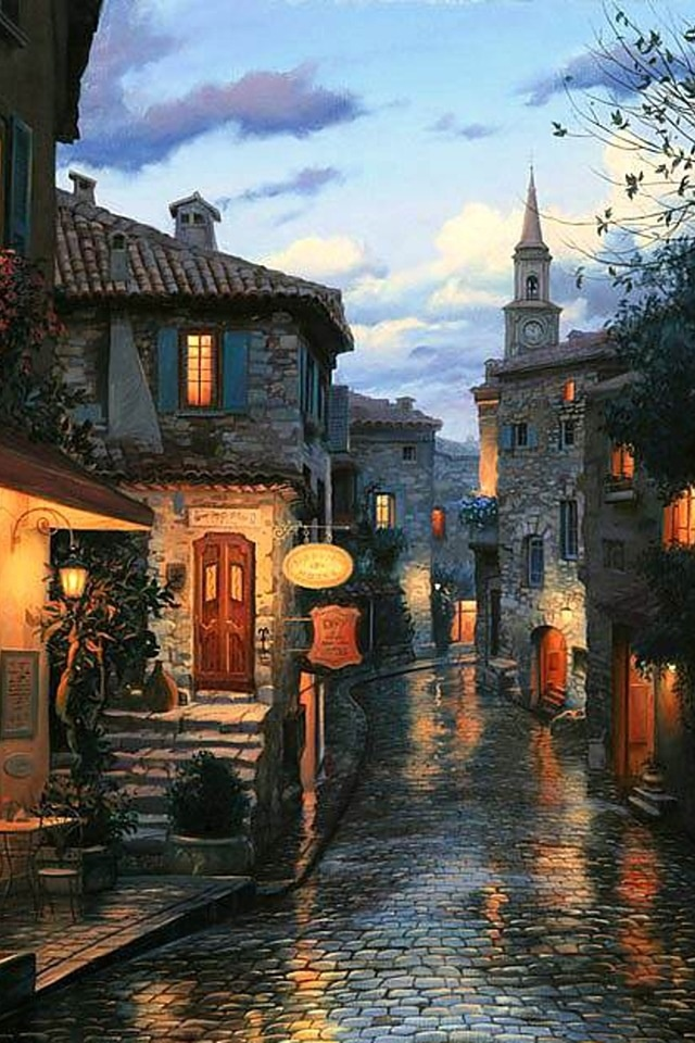 Eze ~ a tiny village in Provence
