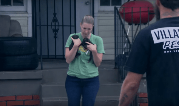 The Moment This Dog Is Reunited With Her Missing Puppies Is Just Beautiful.5
