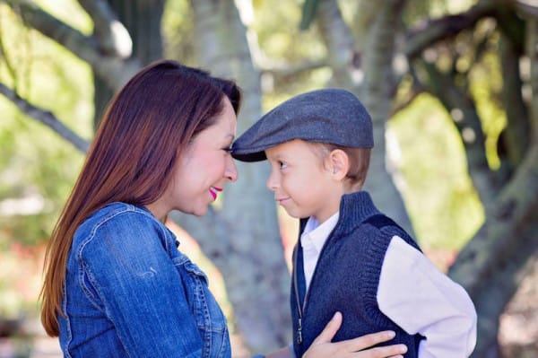Her Son Poses For A Photo With A Stranger, Then Mom Sees THIS In Her Eyes. Unbelievable.