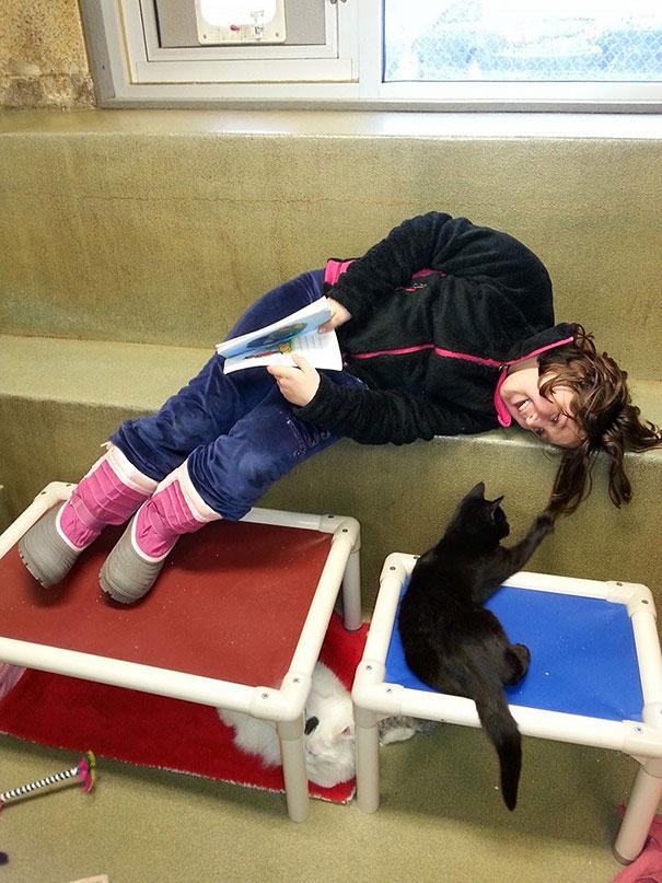 reading-children-shelter-cats-book-buddies-1