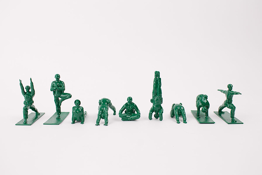 yoga-joes-peaceful-green-army-figures-dan-abramson-1