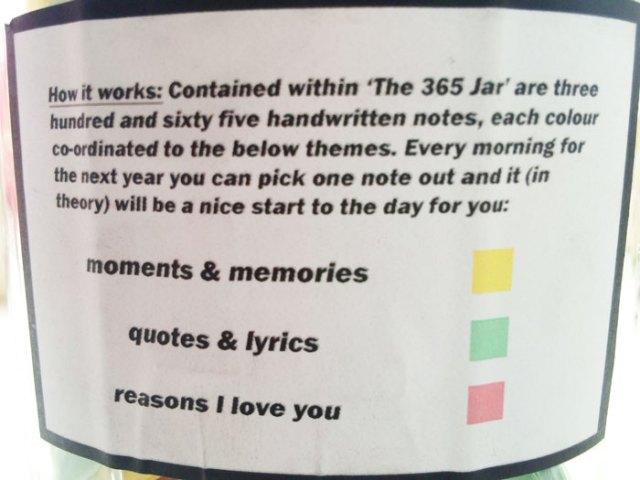 Este Novio Puso 365 Notas Romanticas En Un Tarro Para Que Su Novia
