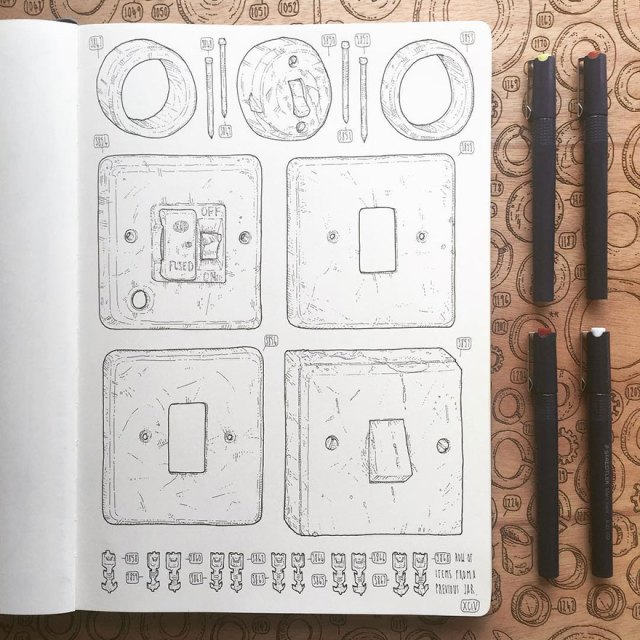 proyecto-dibujo-objetos-cobertizo-abuelo-fallecido-lee-john-phillips (7)