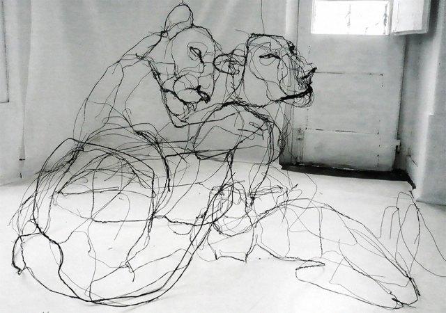 esculturas-animales-3d-alambre-david-oliveira (1)