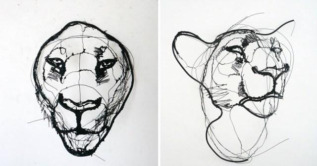 esculturas-animales-3d-alambre-david-oliveira (5)