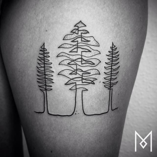 tatuajes-linea-continua-mo-ganji (11)