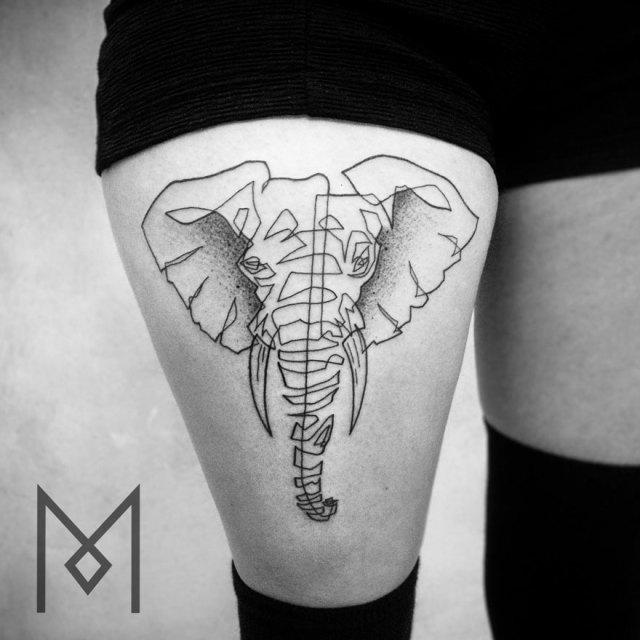 tatuajes-linea-continua-mo-ganji (9)