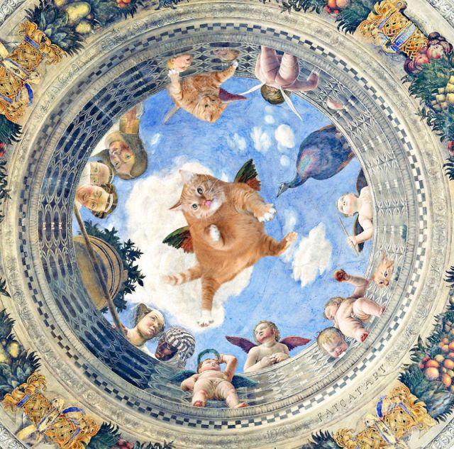 pinturas-famosas-con-gato-Ginger-svetlana-petrova (9)
