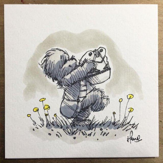 dibujos-mezcla-winnie-pooh-guerra-galaxias-james-hance (10)