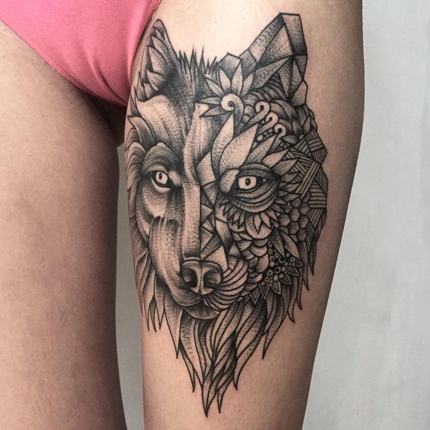 Tatuajes De Oscuras Y Tenebrosas Criaturas Creados Por Un Tatuador