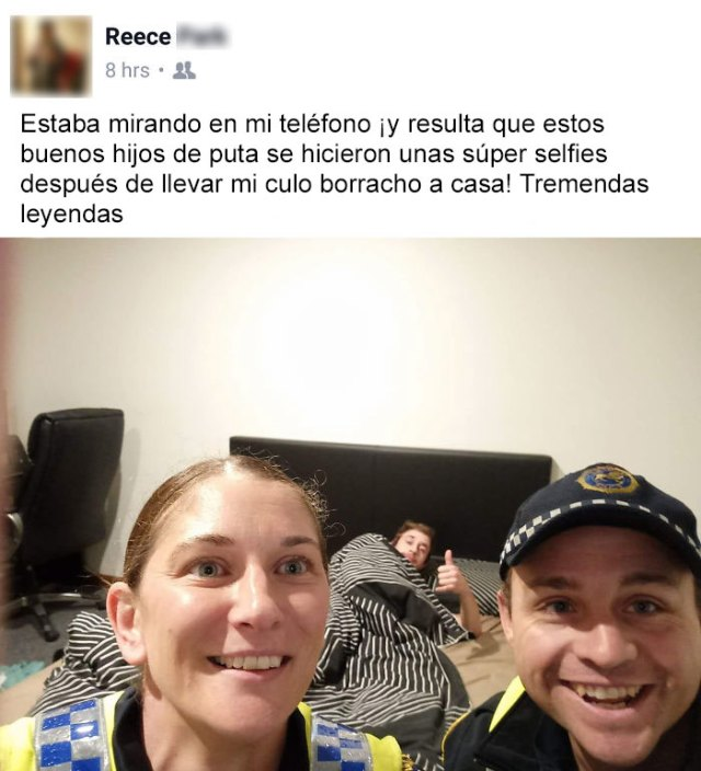 Después De Una Noche Con Desmayo, Mi Colega Se Despertó Con Un Grandioso Selfie En Su Teléfono