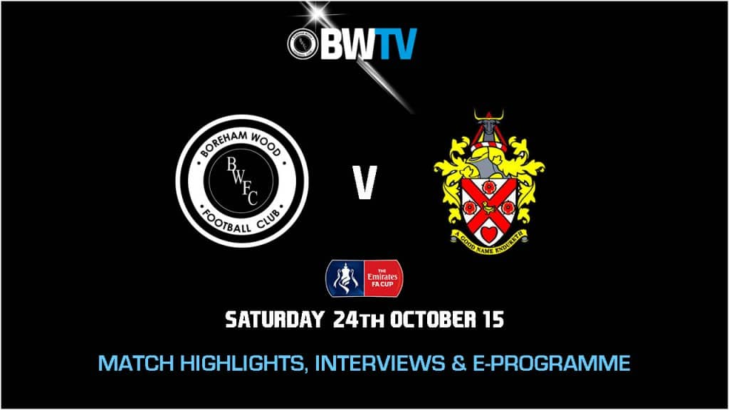 HIGHLIGHTS: BOREHAM WOOD VS AFC HORNCHURCH