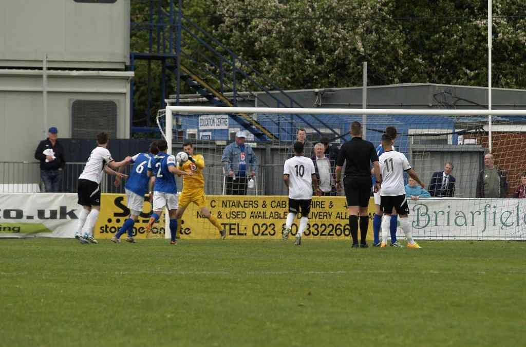 MATCH REPORT: EASTLEIGH VS BOREHAM WOOD
