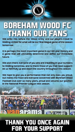 THANK YOU TO OUR SUPPORTERS