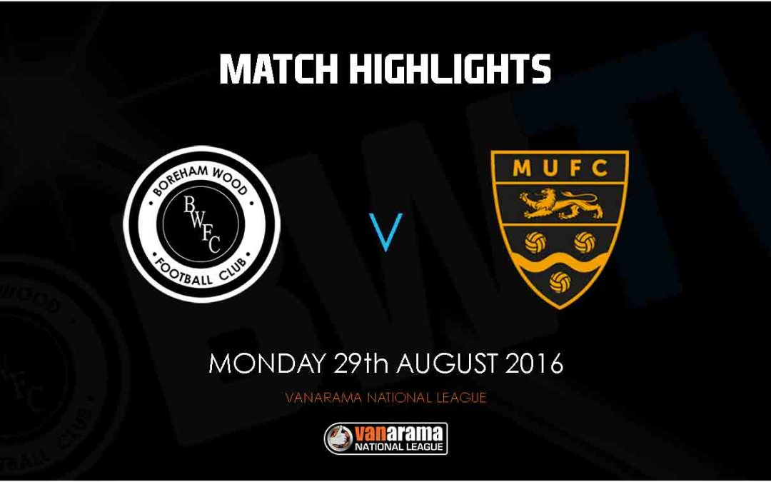 HIGHLIGHTS FROM MAIDSTONE DEFEAT ARE NOW ONLINE