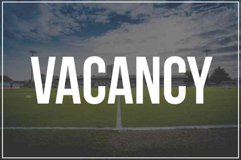 Image result for vacancies football