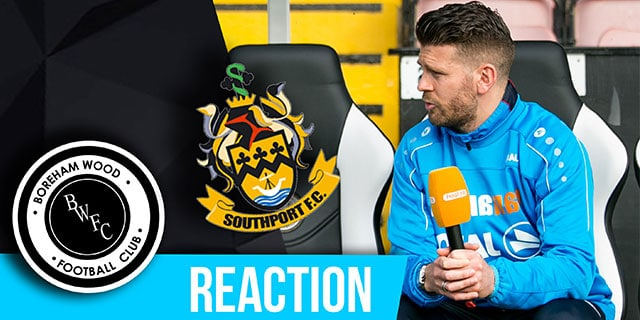 LUKE GARRARD REACTION – SOUTHPORT