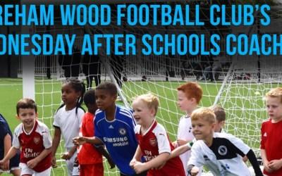 AFTER SCHOOL FOOTBALL COACHING RETURNS