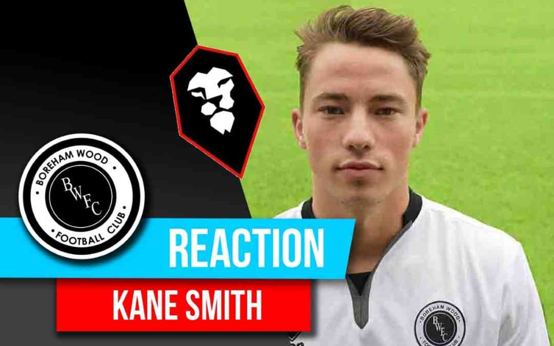 KANE SMITH REACTION –  SALFORD