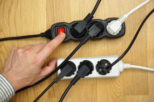 електрически повреди от пренапрежение