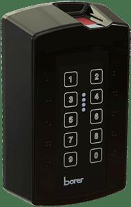borer fusion fingerprint pin smartcard reader