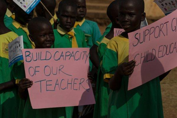 Under Major Progress Education System In South Sudan