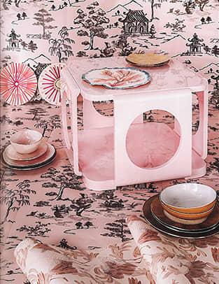 papel de pared rosa