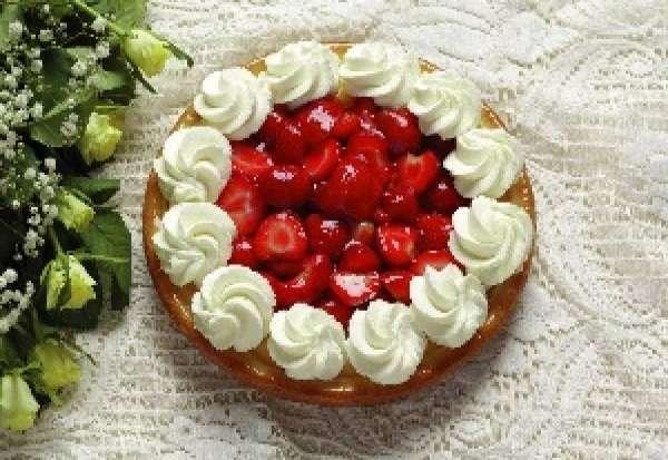 aardbeienvlaai