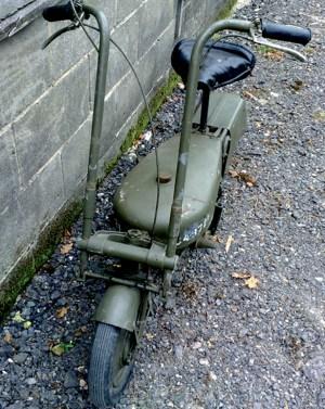 Scooter-Trinchera