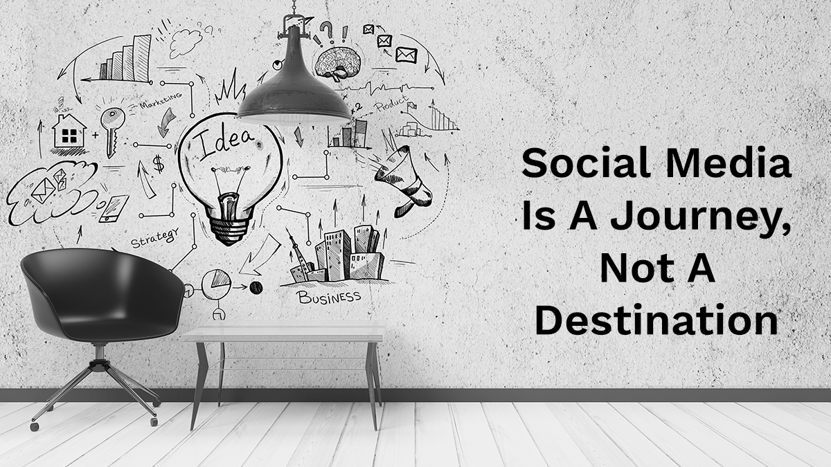 Social media is a journey