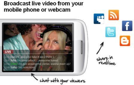 Bambuser превръща мобилния ви телефон в подвижна ТВ станция