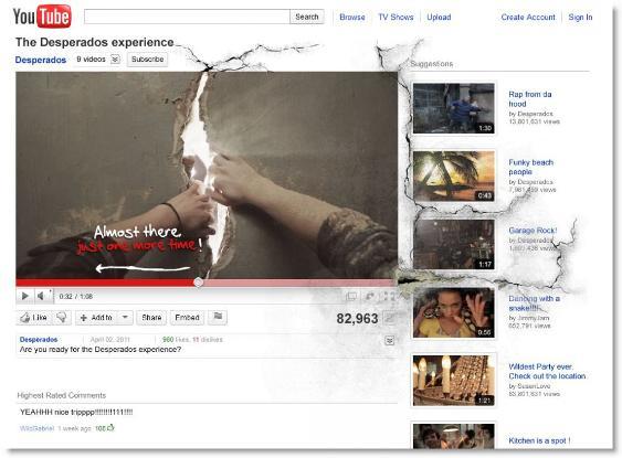 Desperados Experience – истински маркетинг криейтив в действие