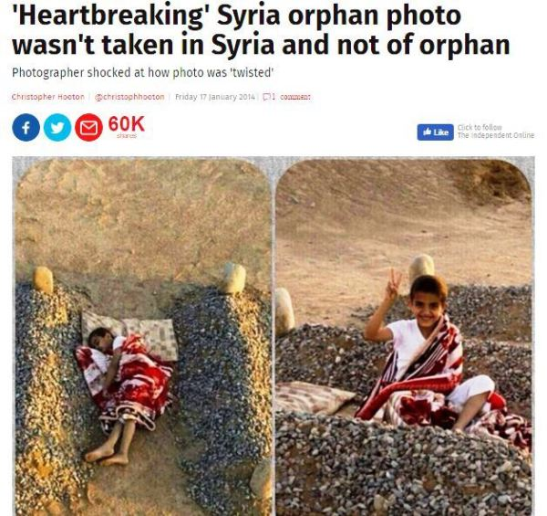 syria fake news