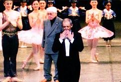 """Спектакъл на """"Корсар"""" в Япония, дирижиран от Борис Спасов"""