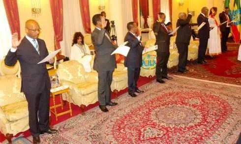 Ethiopia : Newly appointed Ambassadors - Ethiopia