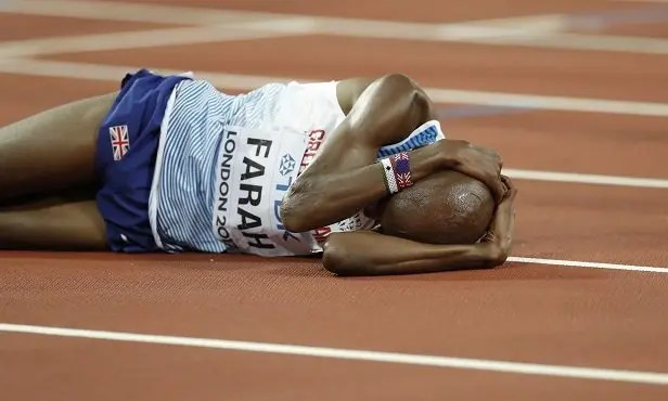 Mo Farah lost to Muktar Endris of Ethiopia -Source the Guardian