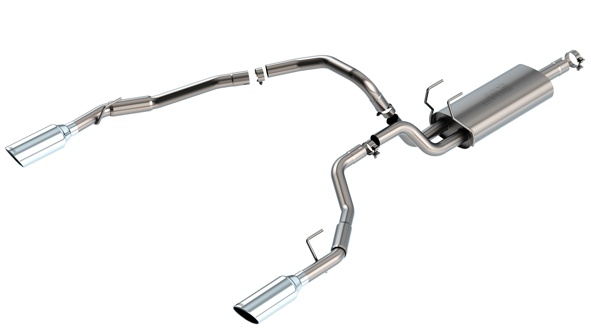 2009 2020 ram 1500 cat back exhaust system s type part 140307