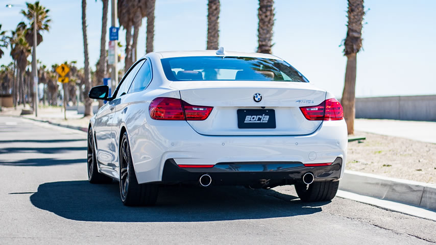 bmw 435i f32 exhaust systems