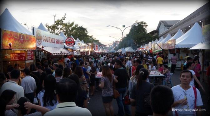 Kuching Food Festival: 2014