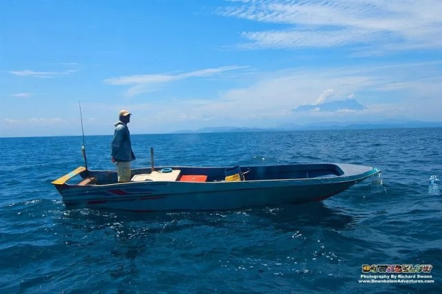 A Malaysian fisherman had also filed a police report after he said the Chinese crew ordered him and others to pull up their fishing nets and leave the area.