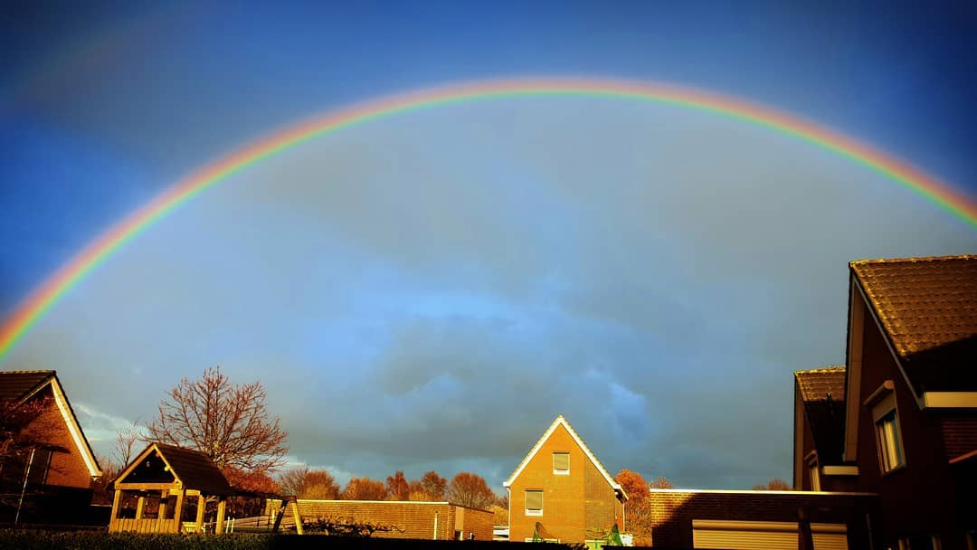 #gelukstreffer in #Born #regenboog #liefdevoorlimburg #limburg