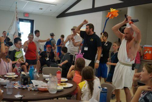 MDA cafeteria fun